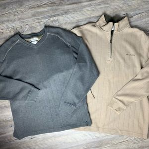 Columbia Bundle of 2 Pullover Sweaters Size XL